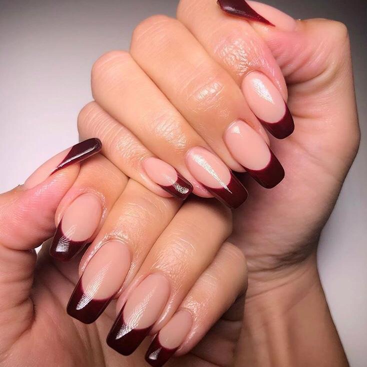 Ejemplos de uñas para primavera