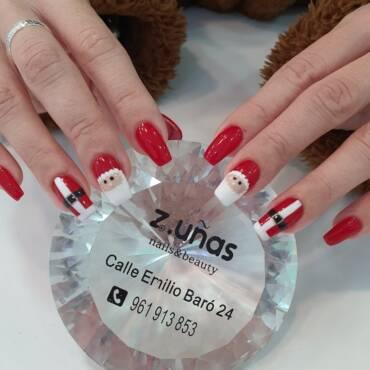 Los mejores diseños de uñas para estas fiestas navideñas